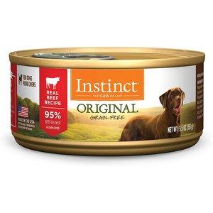 Instinct Canine Lata De Res