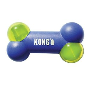Kong Hueso Squeezz Action Blue