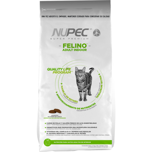Nupec Feline Adulto Indoor