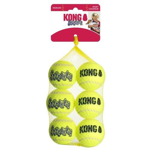 Kong Pelota SqueakAir Ball (6 pza)