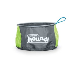 Outward Hound Bebedero Port-A-Bowl