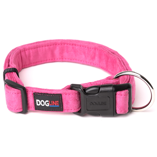 Dogline Collar De Microfibra S