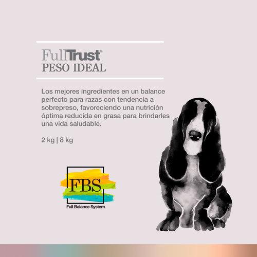 Full Trust Canine Adulto Peso Ideal