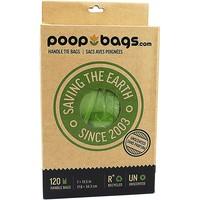 Caja Bolsas Con Asa Biodegradables  (120 pza)