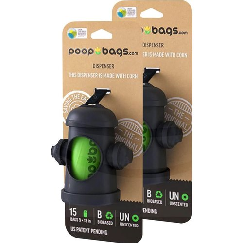 Poop Bags Dispensador de Bolsas Biodegradables (incluye 15 pza)