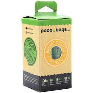 Poop Bags Caja Bolsas Biodegradables Con Aroma (8 rollos-120 pza)
