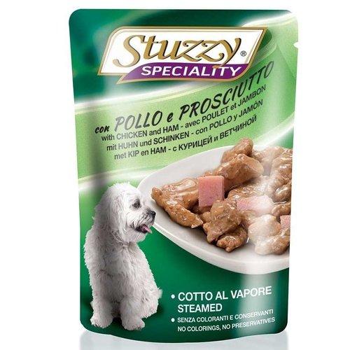 Stuzzy Canine Sobre Speciality Dog Con Pollo Y Jamón 100 g