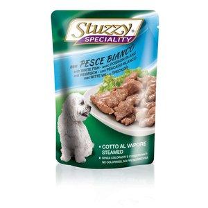 Stuzzy Canine Sobre Speciality Dog Con Pescado Blanco 100 g