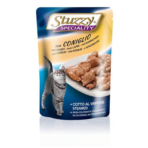Stuzzy Feline Sobre Speciality Cat Conejo Adulto 100 g
