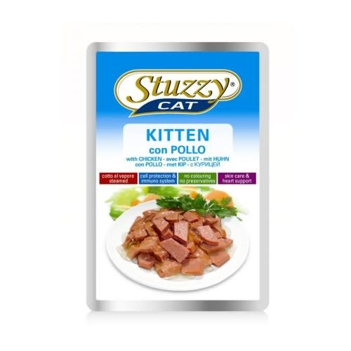 Stuzzy Feline Sobre Pollo Kitten 100 g