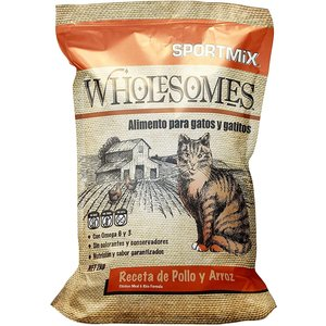 Sport Mix Feline Wholesomes Pollo y Arroz