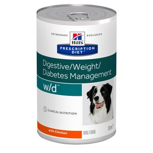 Hill's Prescription Diet Canine Lata W/D 370 g