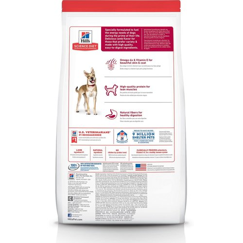 Hill's Science Diet Canine Adult Lamb & Rice