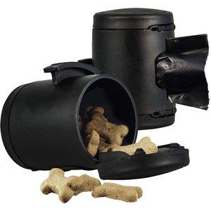 Flexi Porta Bolssas/Croquetas Multi Box Negro