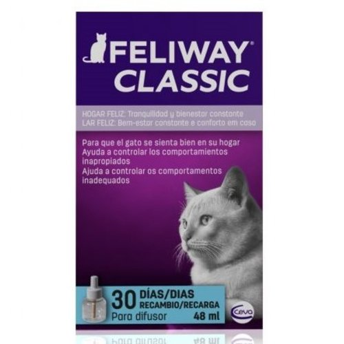 Ceva Feliway Classic Recarga 48 ml