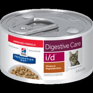 Hill's Prescription Diet Feline Lata I/D Chicken & Vegetable Stew 82 g