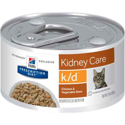 Hill's Prescription Diet Feline Lata K/D Chicken & Vegetable Stew 82 g