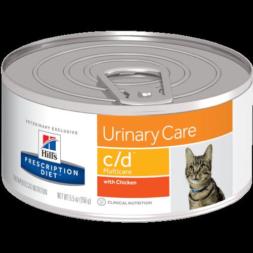 Hill's Prescription Diet Feline Lata C/D Multicare Chicken Stew 82 g