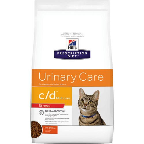 Hill's Prescription Diet Feline C/D Multicare Urinary Stress 2.9 kg