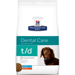 Hill's Prescription Diet Canine T/D Small Bites 2.3 kg