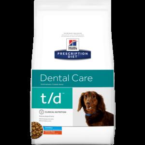 Hill's Prescription Diet Canine T/D Small Bites 2.3 kg