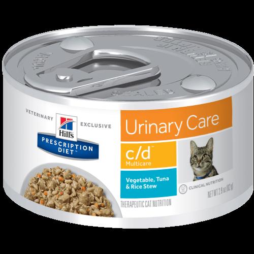 Hill's Prescription Diet Feline Lata C/D Multicare Tuna Stew 82 g