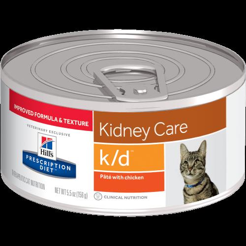 Hill's Prescription Diet Feline Lata K/D 156 g