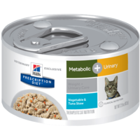 Feline Lata Metabolic + Urinary  Vegetable & Tuna Stew82 g