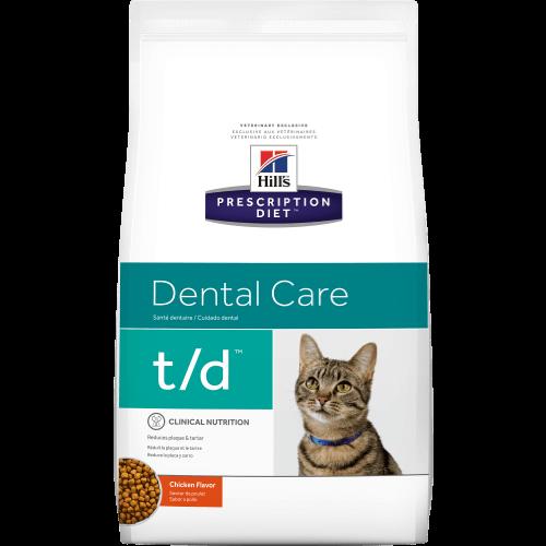 Hill's Prescription Diet Feline T/D 1.8 kg