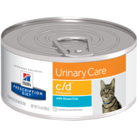 Feline Lata C/D Multicare With Ocean Fish 156 g