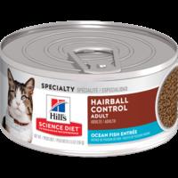 Feline Lata Adult Hairball Control Seafood 156 g
