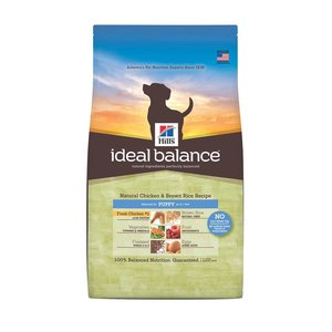 Hill's Ideal Balance Canine Chicken & Brown Rice Recipe Puppies