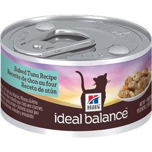 Hill's Ideal Balance Feline Lata Ideal Balance Atún  Al Horno 82 g