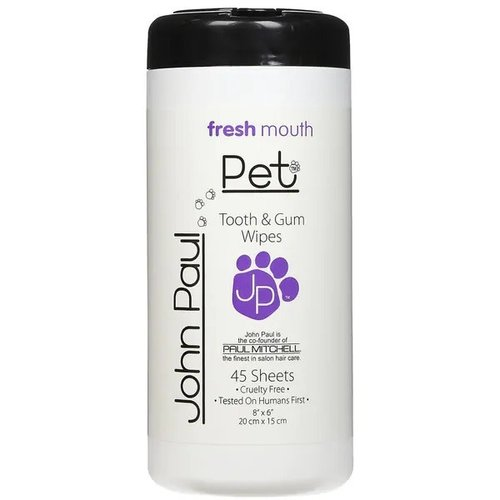 John Paul Pet Toallas Húmedas Fresh Mouth 15 ml