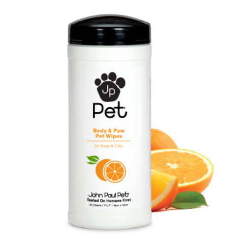 John Paul Pet Toallas Húmedas Healthy Paws 45 Pz