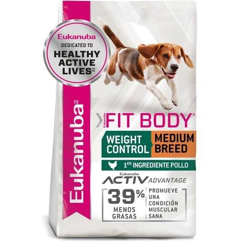Eukanuba Canine Cuerpo en Forma Razas Medianas 13.6 kg