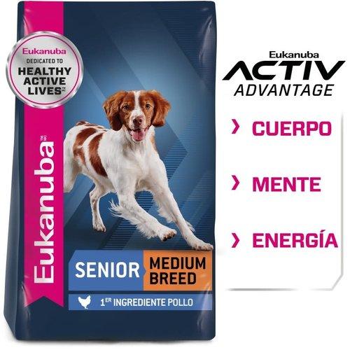Eukanuba Canine Senior Razas Medianas 13.6 kg