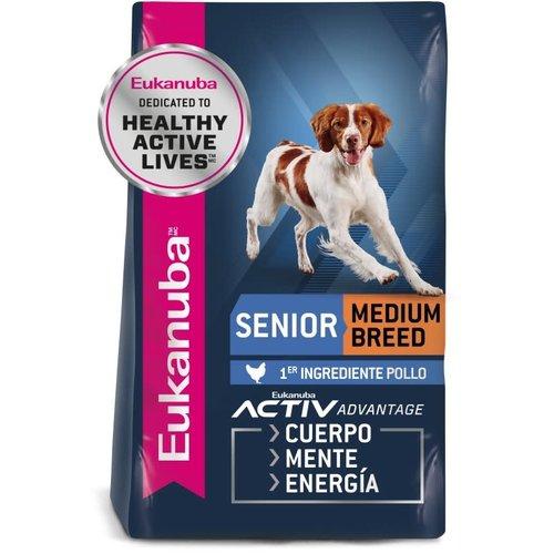 Eukanuba Canine Senior Razas Medianas