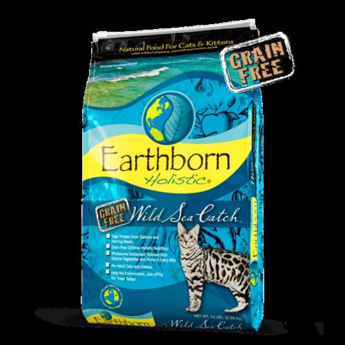 Earthborn Feline Holistic Grain Free Wild Sea Catch