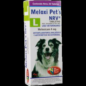 Laboratorio Norvet Meloxi Pets G 4 mg 30 Pza.