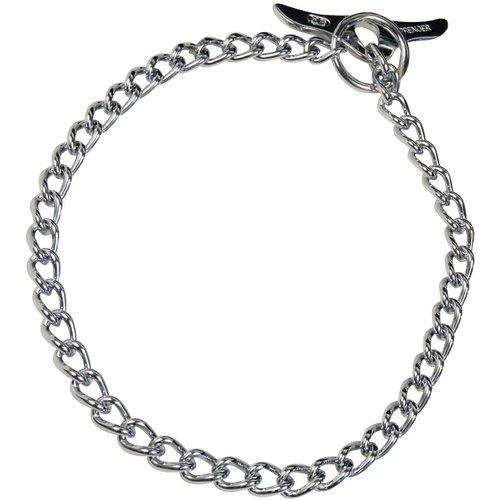 Sprenger Collar Cadena de Entrenamiento Alemana Plano Con Mariposa