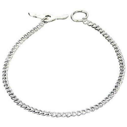 Sprenger Collar Cadena de Entrenamiento Alemana Redondo Con Mariposa 65 cm X 3.4 mm