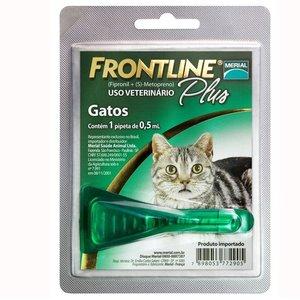 Laboratorio Merial Frontline Plus Gato