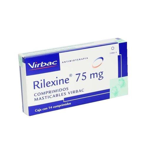 Laboratorio Virbac Rilexine 75 Masticable Caja 14 Pza.