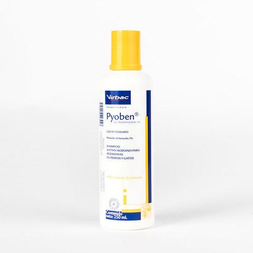 Laboratorio Virbac Virbac Shampoo Pyoben 250 ml