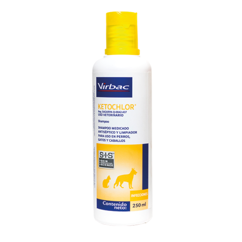 Laboratorio Virbac Ketochlor Shampoo 250 ml