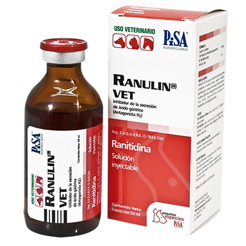 Laboratorio Pisa Ranulin Vet 40 mg/Ml Fco. 50 ml
