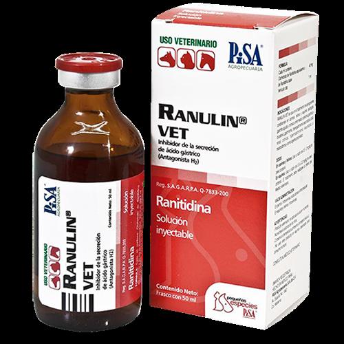 Laboratorio Pisa Ranulin Vet 40 mg/Ml Fco. 50 ml