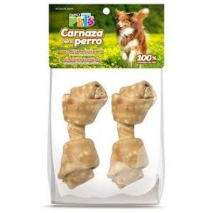 Fancy Pets Carnaza Hueso Sabor Pollo [12- 15] cm - 2 pza
