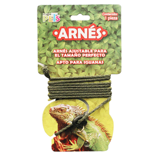 Fancy Pets Arnés P/ Iguanas Y Reptiles